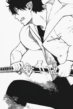 Read Ao no Exorcist manga Chapter 30 online. This world consists of two dimensions joined as one, like a mirror. Ao No Exorcist, Blue Exorcist Anime, Rin Okumura, Manga Boy, Manga Anime, Anime Art, Fullmetal Alchemist, Vocaloid, Avatar