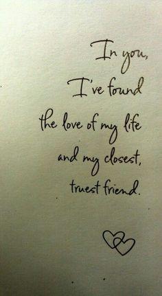 My closest and truest friend!