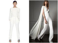 Bridal Jumpsuit | Wedding Jumpsuit | Bridal Musings Wedding Blog5 http://bridalmusings.com/2014/06/bride-wore-trousers/