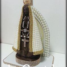 Nossa Senhora Aparecida #nossasenhoraaparecida #customização #fé #arteemperolas #artesanal