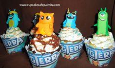 Babosas Bajoterra slugterra cupcakes #slugterra