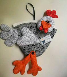 galinha porta filtro de papel I
