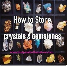 Welcome to my Blog post on How to store your gemstones and crystals! If you love your gemstones and crystals as much as I do, then you have found your definitiv