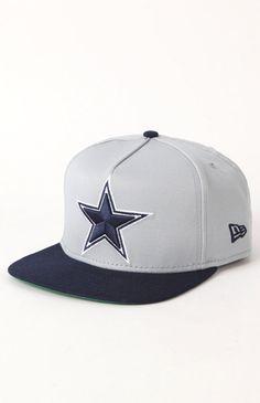 Cowboys Flip A Frame Snapback Hat