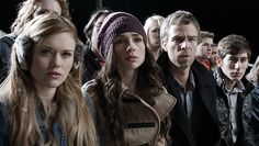 Allison and Chris Argent, Lydia Martin (Teen Wolf school scene)
