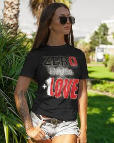 Inspirational T-Shirt Designed and Sold by FutureImgaging Join together and help Cancel out hate with a 'Zero Hate +1 Love' design displaying strength and courage to erase any hate. IF Hate equals 0 AND Love equals 1... Love always wins. #shopping #fashion #design #standup #standout #standtogether Love Always Wins, Love Design, Hate, Zero, Shirt Designs, Strength, Join, Inspirational, Inspired