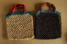 Woven tote bags | Rough | Craft.