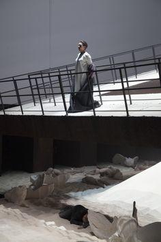 Isolde (Lioba Braun) al termine del terzo atto © Copyright Michele Borzoni/TerraProject/Contrasto