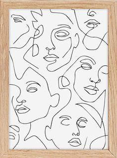 Et Wallpaper, Nurse Art, Line Art Design, Outline Art, Mirror Painting, Abstract Line Art, Fashion Wall Art, Greek Art, Diy Canvas Art