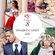 Esküvőszervezés: 8 hónappal az esküvő előtt: Most igazán fontos döntéseket kell hoznod! Ha aggódsz, hogy valamit elfelejtettél, vagy elakadtál a szervezésben, lássuk, mik a legfontosabb teendőid 8 hónappal az esküvő előtt! Table Decorations, Wedding, Home Decor, Valentines Day Weddings, Decoration Home, Room Decor, Weddings, Home Interior Design, Marriage
