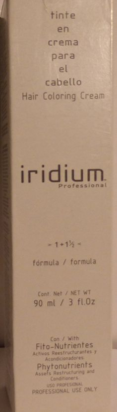 Iridium Hair Coloring Cream 4.65 Medium Brown Red Mahogany 3 Oz -- More info could be found at the image url. (This is an Amazon affiliate link)