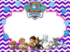 Image result for paw patrol birthday invitation free Everest