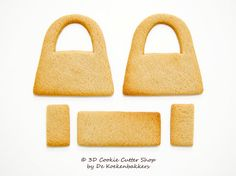 3D Handbag Cookie Cutter Set