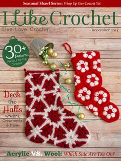 Enter to win a free subscription to I Like Crochet Magazine! Giveaway compliments of AllFreeCrochet and I Like Crochet