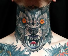 Wolf, Throat