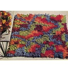 Crochet Afghan Rugs Patterns - Crochet Flowers