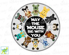 Mickey Star Wars May the Mouse Be with You by TheWallabyWay