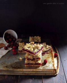 Brown Butter Cranberry Streusel Bars