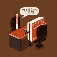 """""""Gonna fire me"""" by Andrés Colmenares"""