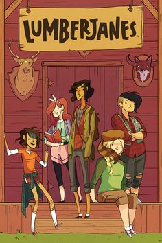 Lumberjanes Review l An all-ages comic from Boom! Studios: Buffy the Vampire Slayer meets Gravity Falls!