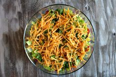 Tex Mex Layered Salad   Recipe Girl