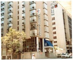 Moulin Rouge Hotel Claim Street Hillbrow late 70's Johannesburg Skyline, Third World Countries, Its A Wonderful Life, The Good Old Days, Back In The Day, South Africa, Street View, African, Architecture