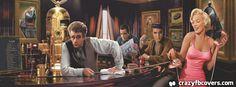 Marilyn, Elvis, James Dean And Humphrey Bogart Facebook Cover Facebook Timeline Cover