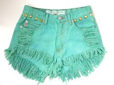 Tiffany colored denim