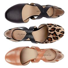 cross strap flats-sole society. #shoes.