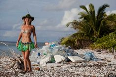 The Other Side of the Postcard: Photos Highlight Massive Island of Plastic Trash in the Maldives Honeymoon Island, Clean Beach, Plastic Pollution, Shooting Photo, Travel News, Teal, The Incredibles, Bikinis, People