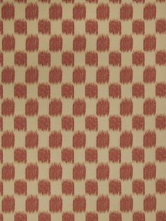 Ikat check pattern 02604 in Scarlet from the Jaclyn Smith Home - Volume III collection for Trend.