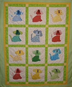 Another dog quilt!