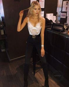 Frauen Sexy Body Overall - Myshopo . - - - Going out outfits for college - Club Outfits For Women, Mode Outfits, Night Outfits, Trendy Outfits, Fashion Outfits, Clothes For Women, Casual Clubbing Outfits, Summer Club Outfits, Classy Sexy Outfits