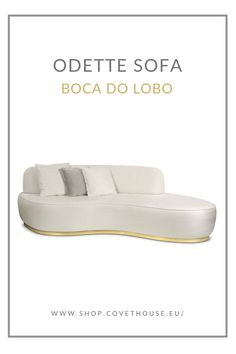 Odette Sofa tells the story of a princess turned into a swan by an evil sorcerer's curse, inspired by the Swan Lake Op. ballet composed by Pyotr Ilyich Tchaikovsky. Luxury Furniture, Modern Furniture, Swan Lake, Polished Brass, Contemporary Design, Classic Style, Upholstery, Luxury Fashion, Ballet