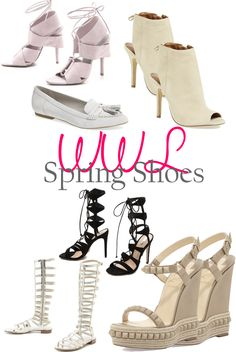 A Lacey Perspective: Wednesday Wish List - Spring Shoes