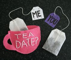 Talking Trash & Wasting Time: Last Minute Mothers day personalised Tea gift