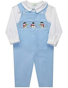COLLECTION Snowman Smocked Overall Sleeve. ** Details can be found by clicking on the image. We are a participant in the Amazon Services LLC Associates Program, an affiliate advertising program designed to provide a means for us to earn fees by linking to Amazon.com and affiliated sites. Program Design, Boy Fashion, Smocking, Latest Fashion Trends, Overalls, Long Sleeve Shirts, Snowman, Sleeves, Pants
