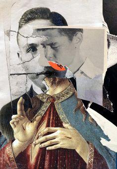 Collage DER UNGLÄUBIGE THOMAS 2013 Waldemar Strempler Tumblr