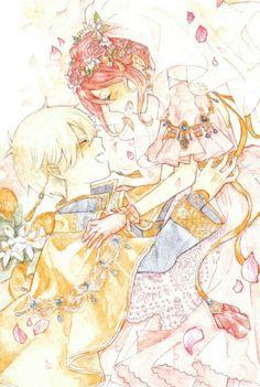 Akagami no Shirayuki-hime - Snow White with the Red Hair - Shirayuki and Zen Manga Love, Anime Love, Zen Y Shirayuki, Fan Art, Couple Manga, Manga Anime, Anime Art, Akagami No Shirayukihime, Snow White With The Red Hair