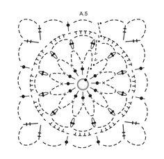 A Wistful Dream / DROPS 176-16 - Ylhäältä alas virkattu ruutuponcho DROPS Belle-langasta. Koot S - XXXL. - Free pattern by DROPS Design