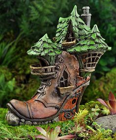 Victoria Boot Fairy Home Décor #zulily #zulilyfinds