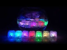 "1.25"" Polychrome Flash Ice Cubes - Multi-Colored Function - Waterproof / 7 different color settings, 1 multi color flash setting / Only $14.00 for 12 pieces http://www.lacrafts.com/product_p/5727.htm (1.25"" Cubitos de Hielo Policromados - Multi Funcion de Colores - A Pruba de Agua / 7 Diferentes ajustes de color, 1 Flash de varios colores / Solo $14.00 por 12 piezas http://www.lacrafts.com/product_p/5727.htm)"
