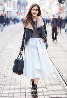 Streetstyle White Black Grey