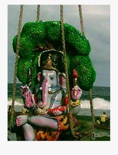 Click to enlarge Fairs And Festivals, Indian Heritage, Ganesha, Chennai, Idol, Beach, The Beach, Ganesh, Beaches