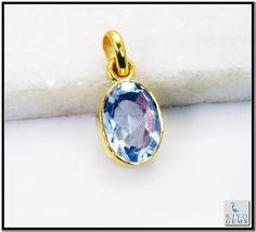 Alexandrite Cz Gem Stone 18 C Gold Platings Aurora Pendant L 1in Gppalcz-8607 http://www.riyogems.com