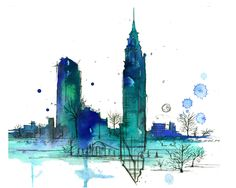 Doodles of NYC by Jessica Durrant
