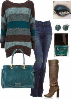 Art On Sun: Fabulous Fall outfit!