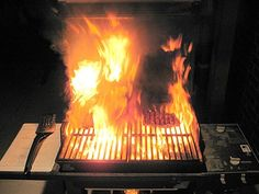 Gas BBQ grills acting up. things-that-make-you-say-jesus Gas Grills On Sale, Barrel Smoker, Gas Bbq, Bbq Rub, Crazy Life, Weekend Vibes, Grilling, Acting, Fire Extinguisher