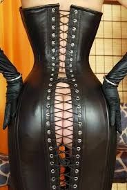 Image result for bondage corset dress