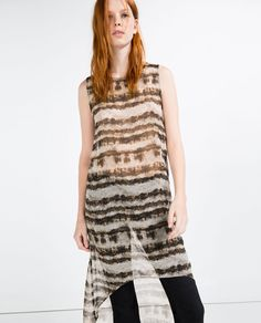 Image 2 of PRINTED TUNIC from Zara